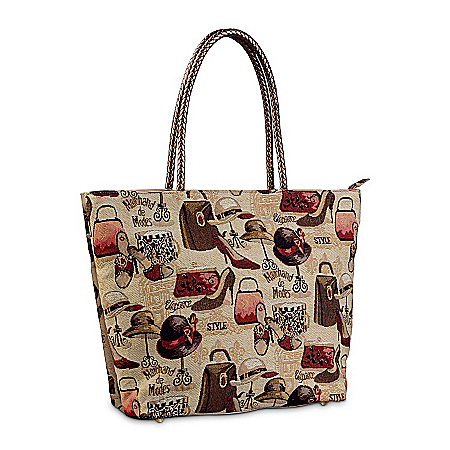 Tapestry Tote Bag: Marchand De Modes