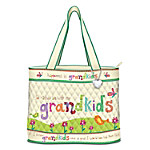 Grandkids Rule Totebag for Grandmother