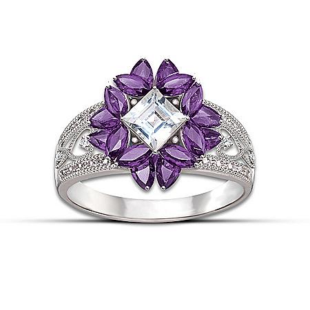 Women's Ring: Twilight Lavender Ring