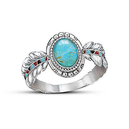 Turquoise Ring: Sedona Sky