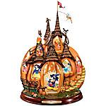 Sculpture - Disney's Enchanted Pumpkin Castle Illuminated Halloween Masterpiece Sculpture