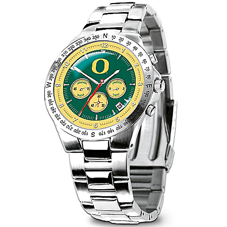 Photo of University Of Oregon Ducks Collector's Watch by The Bradford Exchange Online