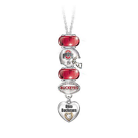 Go Buckeyes! #1 Fan Charm Necklace