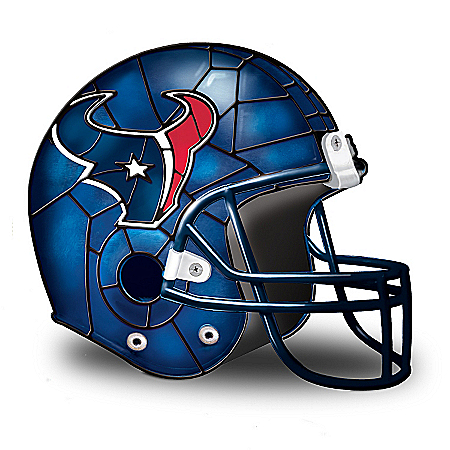NFL Houston Texans Accent Helmet Lamp by The Bradford Exchange Online - Lovely Exchange