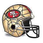 NFL San Francisco 49ers Helmet Accent Lamp
