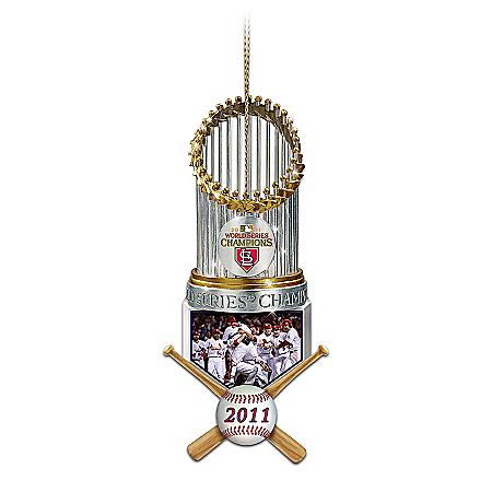 St. Louis Cardinals MLB 2011 World Series Champions Christmas Ornament