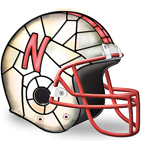 University Of Nebraska Huskers Accent Lamp