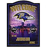 Personalized Wall Decor - Baltimore Ravens
