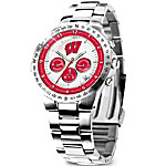 Wisconsin Badgers Collector's Watch