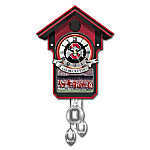 Limited Edition Handcrafted Ohio State University Cuckoo Clock