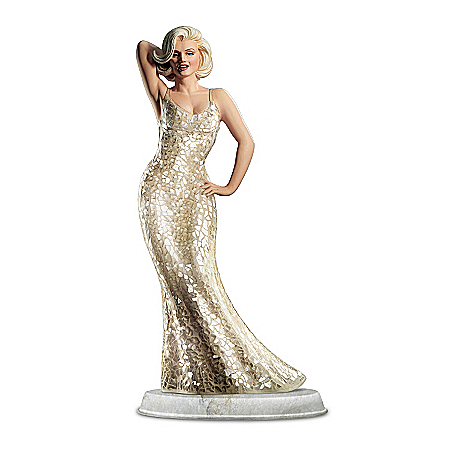 Marilyn Monroe: Happy Birthday From Marilyn Sculpture by The Bradford Exchange Online - Lovely Exchange