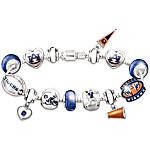 Auburn Tigers Fan Charm Bracelet - Go Tigers! #1 Fan