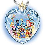 Magic Of Disney Heart Pendant Necklace