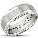 Men's Ring - Our Forever Love Personalized Ring