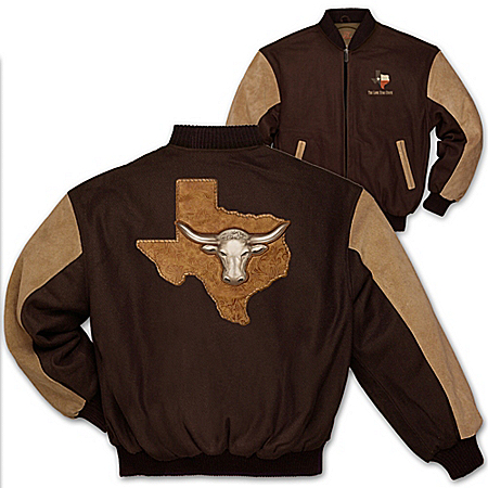 Men's Jacket: Texas Pride