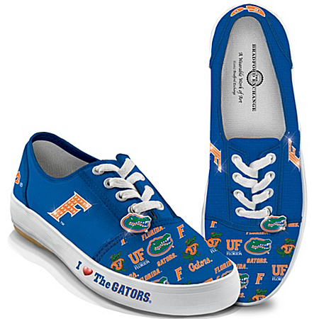 University Of Florida Gators Women's Shoes: I Love The Gators