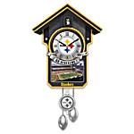 NFL Cuckoo Clock: Pittsburgh Steelers