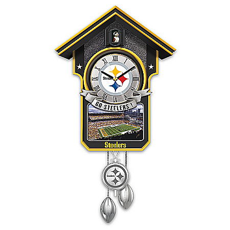 NFL Cuckoo Clock: Pittsburgh Steelers