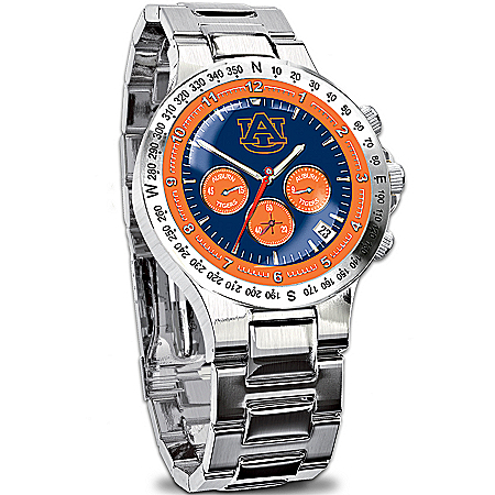 Photo of Auburn Tigers Collector's Watch by The Bradford Exchange Online