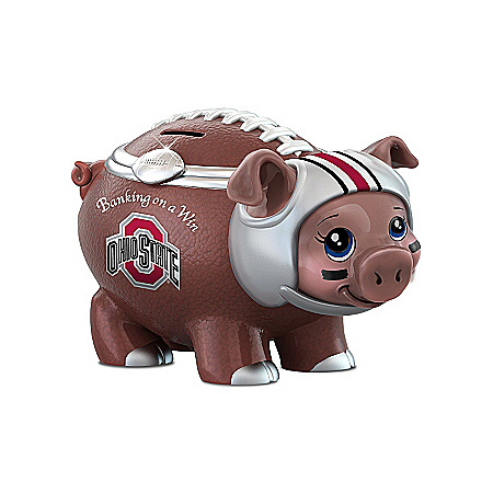 Ohio State Football Fan Piggy Bank: Banking On A Win