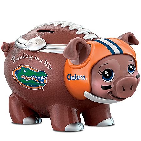 University Of Florida Football Fan Piggy Bank: Banking On A Win