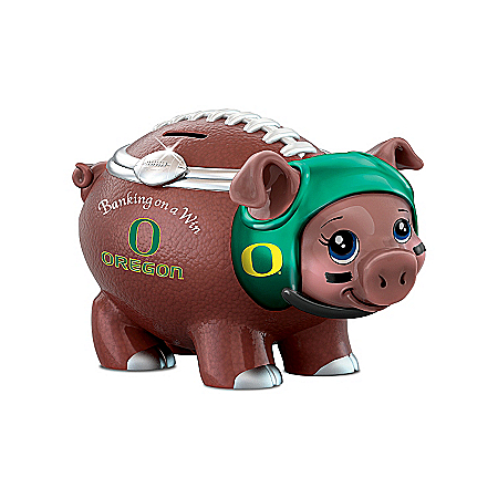 University Of Oregon Football Fan Piggy Bank: Banking On A Win