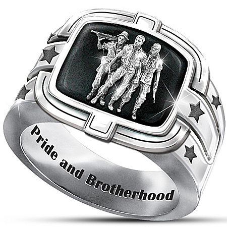Men's Ring: Brotherhood Of Veterans