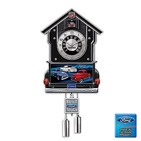 Photo of Cuckoo Clock: Ford F-Series Cuckoo Clock by The Bradford Exchange Online