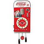 Wall Decor - COCA-COLA Time For Refreshment Vending Machine Wall Clock