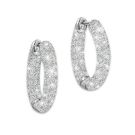 Diamond Earrings: Love's Whisper