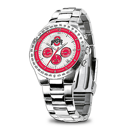 Ohio State Buckeyes Collector's Watch by The Bradford Exchange Online - Lovely Exchange