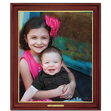 Cherished Memories Personalized Canvas Portrait Wall Decor
