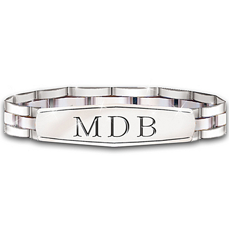 Personalized Bracelet: My Grandson, My Pride, My Joy – Personalized Jewelry