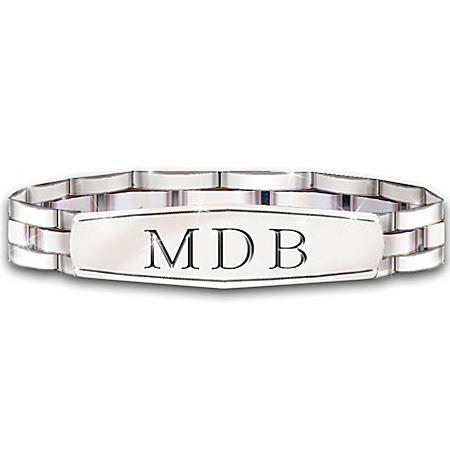 Personalized Bracelet: My Grandson, My Pride, My Joy – Personalized Jewelry