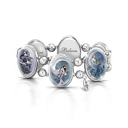 Art Stretch Bracelet: Nene Thomas Moon Dreamer