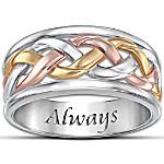Christian Men's Ring - Strength Of Our Faith
