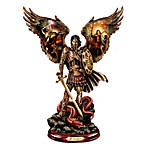 Michael - Triumphant Warrior Bronze Sculpture