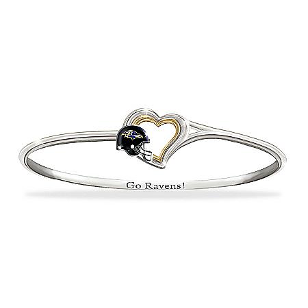 Women's Bracelet: Go Ravens!