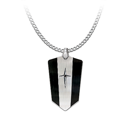 Men's Pendant: Protection And Strength For My Son Pendant Necklace – Graduation Gift Ideas
