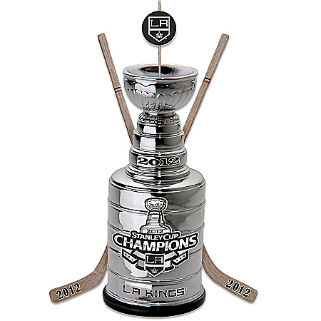 Officially-Licensed Los Angeles Kings® 2012 NHL® Stanley Cup® Champs Ornament by The Bradford Exchange Online - Lovely Exchange