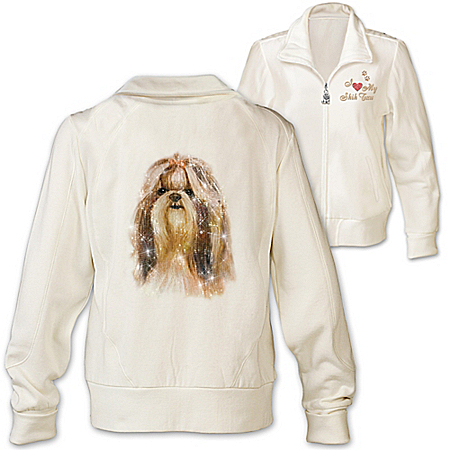 Women's Jacket: Doggone Cute Shih Tzu