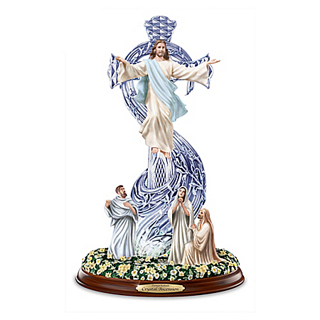 Sculpture: Thomas Kinkade Crystal Ascension Sculpture by The Bradford Exchange Online - Lovely Exchange