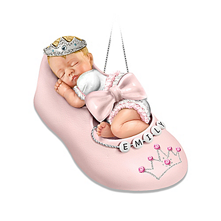Photo of Personalizable Baby Ornament: Our Precious Little Princess by The Bradford Exchange Online