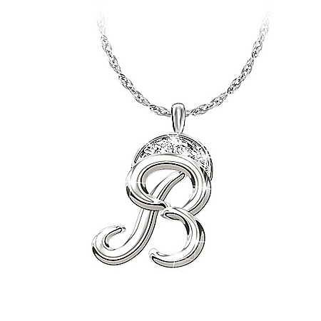 Women's Necklace And Pendant: Alfred Durante Diamond Signature Pendant Necklace