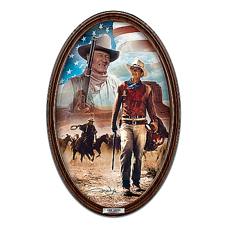 John Wayne, American Hero Collector Plate