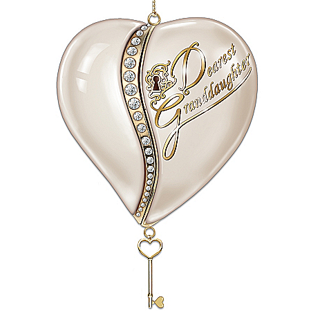 Personalized Heirloom Ornament: The Key To My Heart