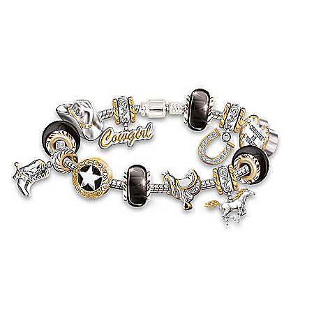 Women's Bracelet: Country At Heart Bracelet by The Bradford Exchange Online - Lovely Exchange
