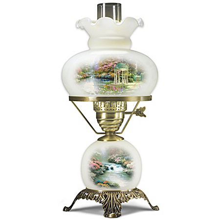 Lamp: Thomas Kinkade Garden Illuminations Lamp