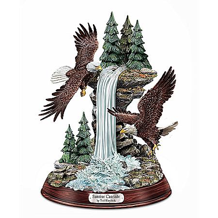 Sculpture: Sunrise Cascade Eagle Sculpture