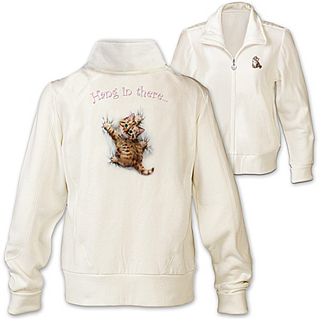 Women's Jacket: Kitten Kutie Women's Jacket